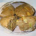 Muffins pommes & pâte de spéculos