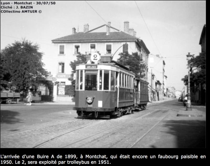 Les Transports en Commun Pendant la II°Guerre-Mondiale à Montchat et à l'Après-Guerre