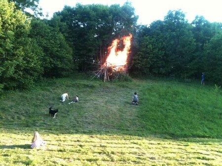 feu de la st Jean 2012
