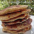 Pancakes aux pépites de choc'