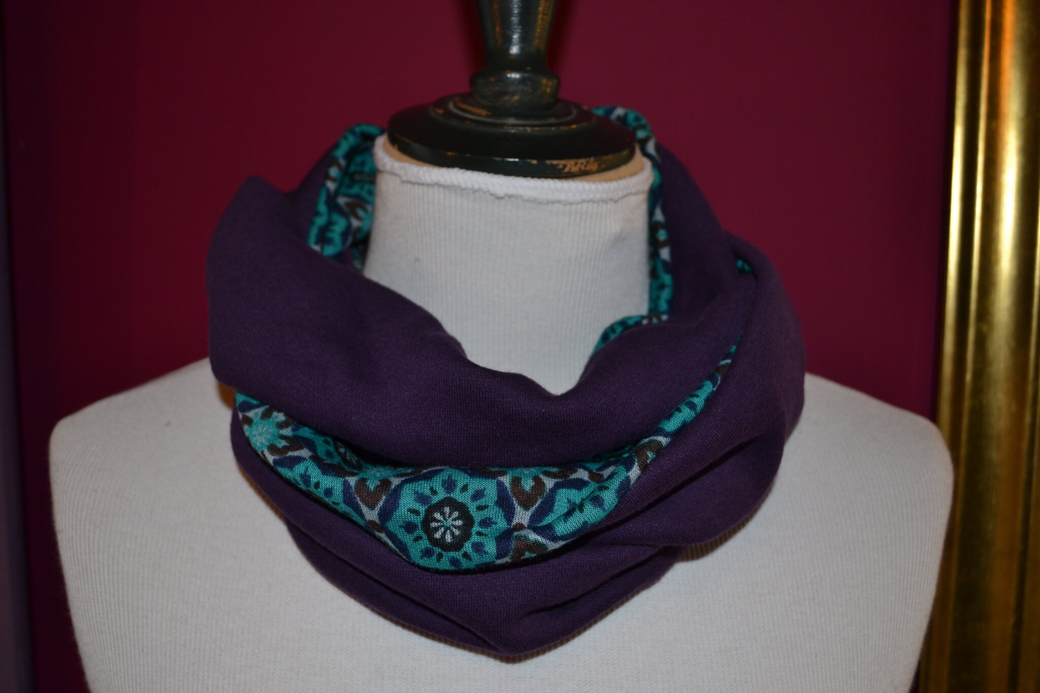 snood/ Purplely