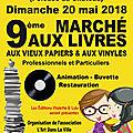 Marché aux livres de nemours (77) // dimanche 20 mai