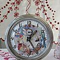 1950sjaz 赤ずきんちゃんの目覚まし時計