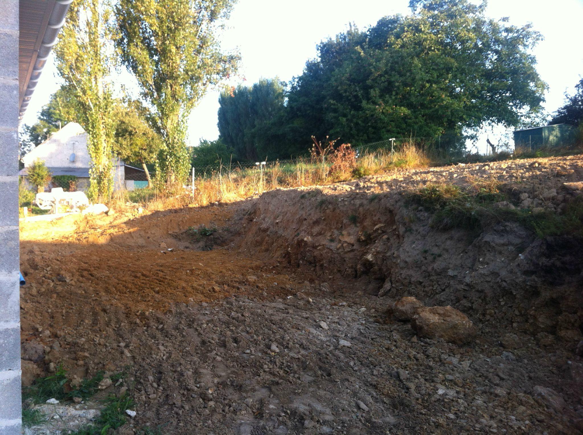 aménagement de la pente - construction maison : my home sweet home !