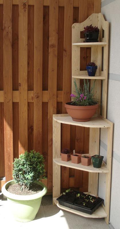 tuto d 39 une tag re d 39 angle partie1 le blog de b a. Black Bedroom Furniture Sets. Home Design Ideas
