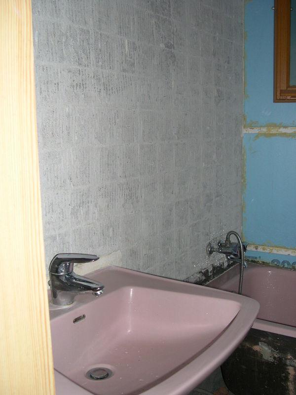 La salle de bain hapchot - Remplacer bac de douche ...