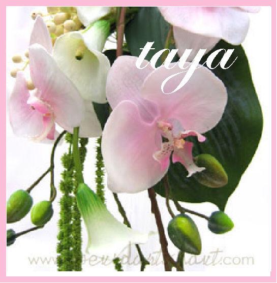 bouquet de mariée taya rose 2