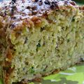Cake courgette - moutarde