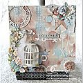 Mon nouvel amour ... le mixed media shabby chic ! ...