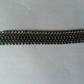 Bracelet en netting horizontal