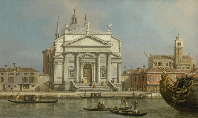 Giovanni Antonio Canal, called Canaletto, Venice, the Churches of the Redentore