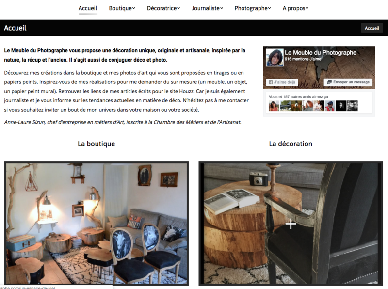 site le meuble du photographe