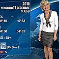 Evelyne Dhéliat jupe grise haut blanc 1480 16 12 10