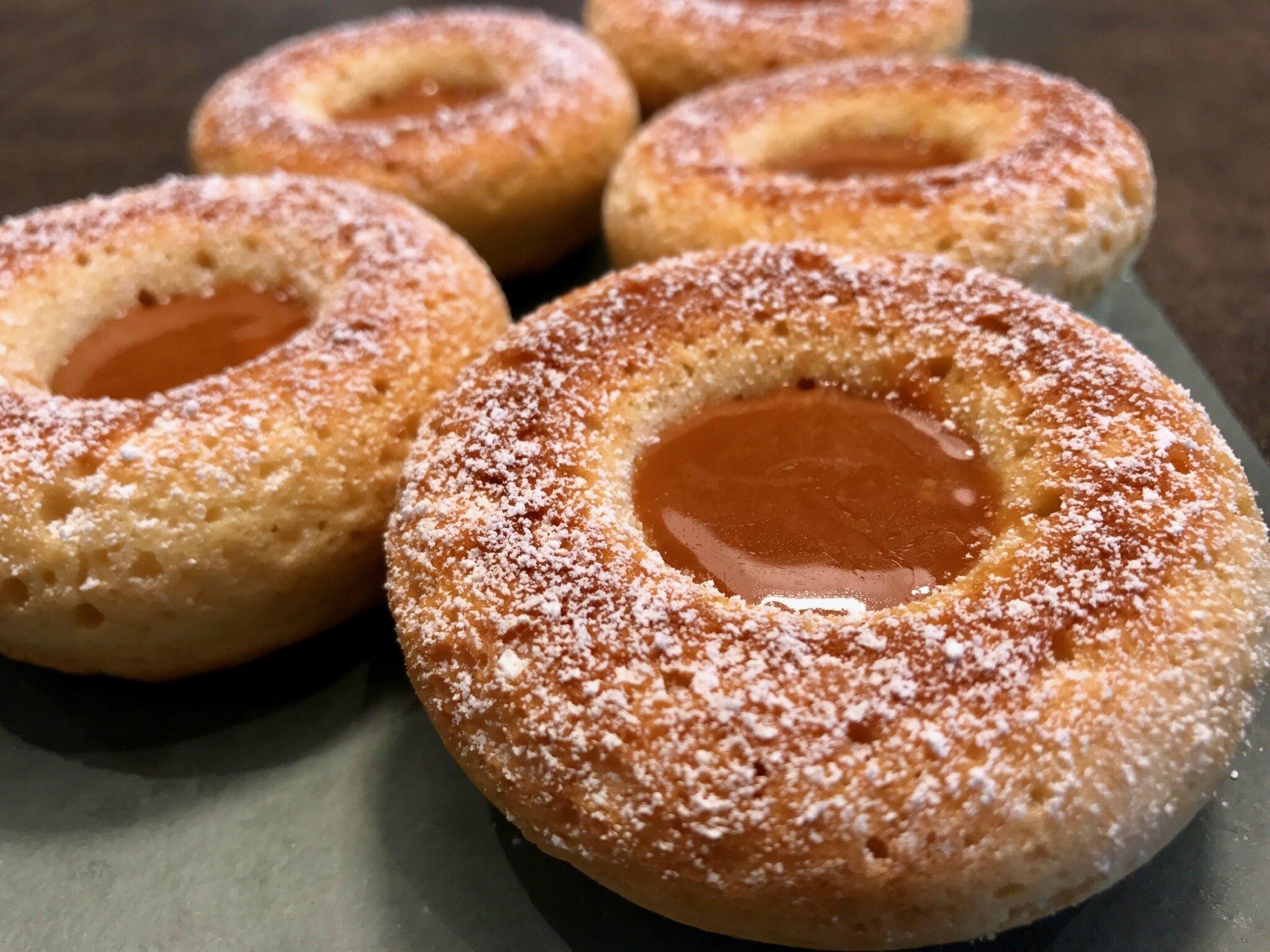 Les faux Donuts au caramel beurre salé