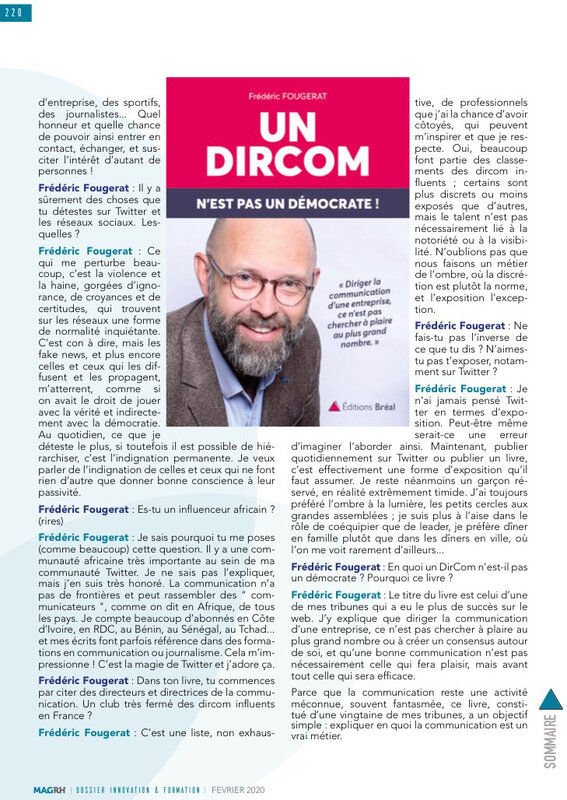 Interview Frederic Fougerat MagRH 2