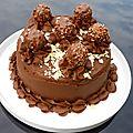 Gâteau au chocolat {layer cake}