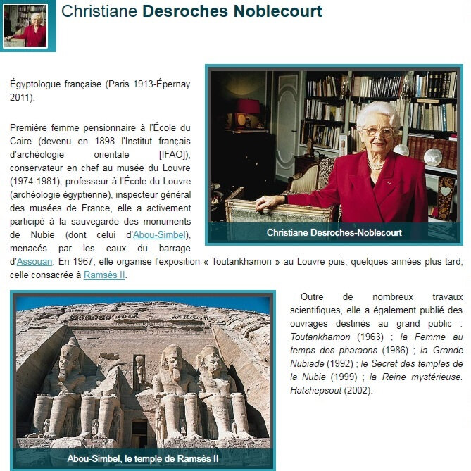 Christiane Desroches Noblecourt