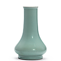 A Longquan celadon long-necked vase, Southern Song dynasty (1127-1279)
