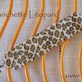 Manchette léopard
