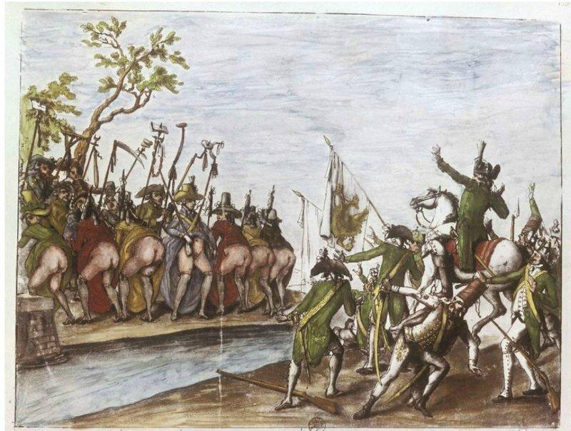 La débandade de l'armée