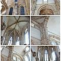 intérieur de l'abbaye de Cluny