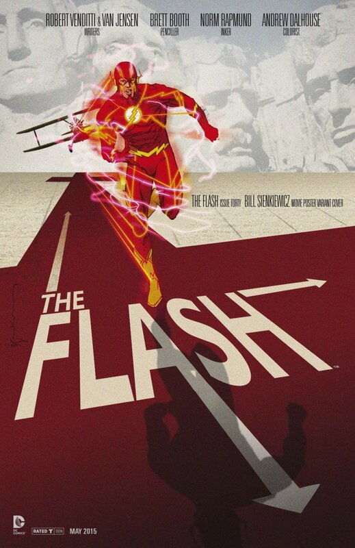 flash 40 movie variant