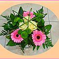 Art floral : bouquet rond