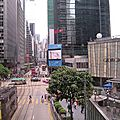 Central, wan chai, causeway bay : le centre d'affaires de hong kong