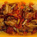 Mes manchons de canard à l'orientale