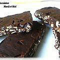 Barres chocolatees au muesli et au miel