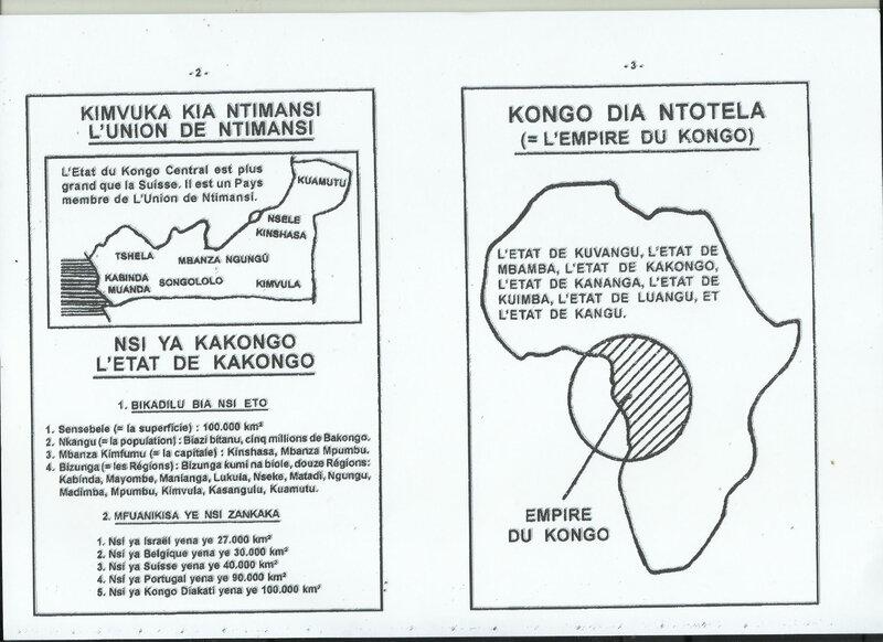 LES BAKONGO NE VOTERONT PLUS UN PRESIDENT UNIQUE DE LA RDC b